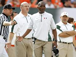 Miami coach Randy Shannon was fired after going 28-22 over four seasons.