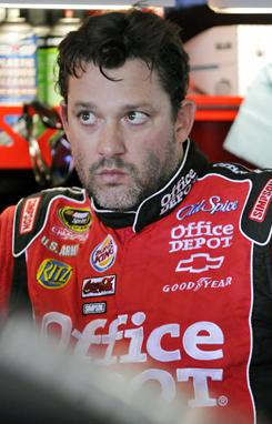 Tony Stewart is in Las Vegas for NASCAR's Sprint Cup Champion's Week.