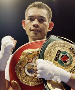 Nonito Donaire of the Philippines, shown after a 2009 victory against Raul Martinez, needs to beat Wladimir Sidorenko on Saturday before he can meet Fernando Montiel on HBO next year.