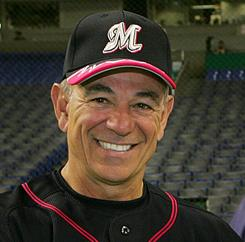 Bobby Valentine managed Japan's Chiba Lotte Marines in 2006. He's headed to the 'Sunday Night Baseball' booth in 2011 to join Dan Shulman and Orel Hershiser.