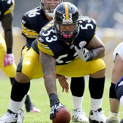 Steelers center Maurkice Pouncey looks to be a long-term starter after less than a season's performance.