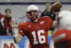 Miami (Ohio) quarterback Austin Boucher completed 29 of 46 passes for 333 yards and the game-winning touchdown.