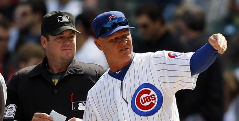 Mike Quade quickly made a name for himself after managing the Cubs to a 24-13 finish in 2010. As a result the Cubs took away interim from his title.