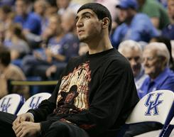 Enes Kanter has been watching Kentucky play as he awaits word on his appeal to restore his eligibility.