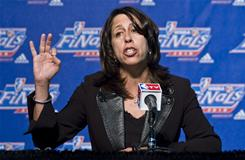 Donna Orender, who has been president of the WNBA since 2005, is stepping down to launch her own company but will remain as a consultant to the league.