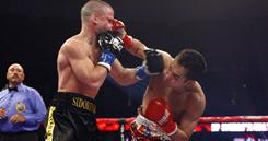 Nonito stops Wladimiro Sidorenko in the fourth round Saturday night at the Honda Center in Anaheim,Calif.