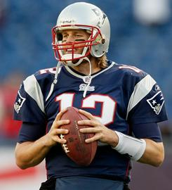 Tom Brady and the 9-2 Patriots host the 9-2 Jets on Monday night.