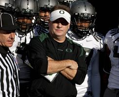 Oregon coach Chip Kelly will lead his team against Auburn in the national title game on Jan. 10.