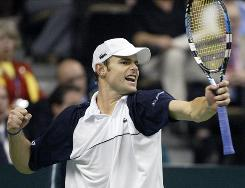 Andy Roddick, who helped lead the USA to a Davis Cup title in 2007, will be in action for the American team in 2011.