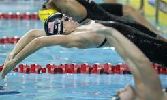 Teri McKeever, the new head of the U.S. women's swimming team, coached 11-time Olympic medalist Natalie Coughlin, above, at California. McKeever is in her 19th season as the head women's swim coach at Cal.