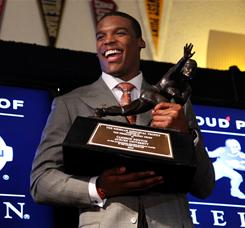 No controversy here: Auburn's Newton wins Heisman Trophy