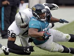 Maurice Jones-Drew moved to 8-5 with a win against Oakland on Sunday.
