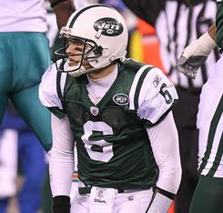 Mark Sanchez and the Jets lost for the second consecutive week, dimming their AFC East title hopes.