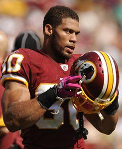 Redskins safety LaRon Landry was having a breakout season before sitting out with an achilles injury.