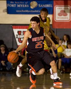 Winter Park's Austin Rivers, shown here in 2009's City of Palms Classic, returns with ninth-ranked Winter Park for the 2010 pre-Christmas tournament.