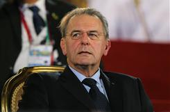 IOC president Jacques Rogge attends the opening ceremony last week for the second Asian Beach Games Muscat 2010 at Al-Musannah Sports City in Muscat, Oman.