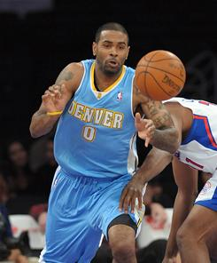 Denver Nuggets forward Gary Forbes says remaining confident about his abilty helped him make the team.