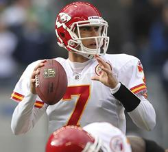 Chiefs quarterback Matt Cassel has thrown 23 touchdown passes and only four interceptions this season.