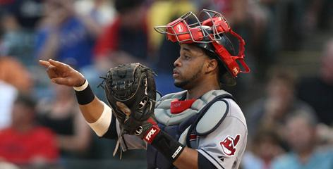 The Indians liked what they saw in catcher Carlos Santana, 24, who had a .401 on-base-percentage with six homers and 22 RBI in 46 games in 2010.