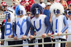 Brigham Young exits the Mountain West on Saturday, playing its last game as a conference member against Texas-El Paso in the New Mexico Bowl.