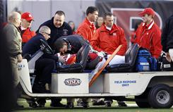 Rutgers defensive tackle Eric LeGrand, paralyzed in a game against Army, has  regained some sensation in his hands.