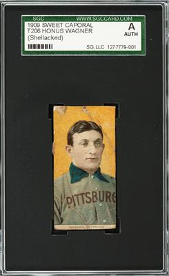 This undated photo provided by Heritage Auctions shows a rare century-old T206 Honus Wagner baseball card, valued at $220,000. A new buyer has emerged for the rare Honus Wagner baseball card that was bequeathed to an order of Roman Catholic nuns in Baltimore.