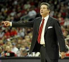 Louisville's Rick Pitino will coach Puerto Rico next summer.