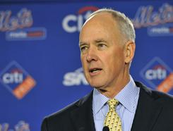 GM Sandy Alderson takes over the Mets and is looking to change the team's culture.