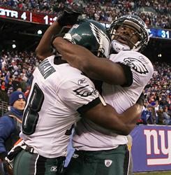 Jason Avant, Jeremy Maclin and the Eagles are one win away from clinching the NFC East.