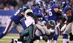 Eli Manning and the New York Giants are looking to bounce back from the Philadelphia loss.