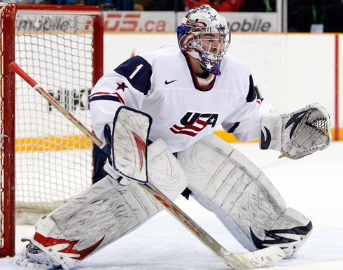 Jack Campbell Gives USA Juniors The Best Chance Of Repeating