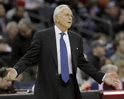 Larry Brown guided the Bobcats to their first-ever playoff appearance last season, but the team has struggled to a 9-19 record so far this year.