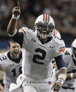 Auburn quarterback Cam Newton received 51 of 60 votes for the AP Player of the Year award.