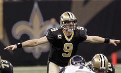 Drew Brees and the Saints can clinch a playoff spot with a win in Week 16.