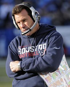 Gary Kubiak and the Texans will post their worst record since the coach's first season in 2006.