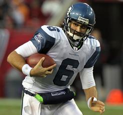 Seahawks quarterback Charlie Whitehurst was ineffective after replacing the injured Matt Hasselbeck against the Buccaneers last week.