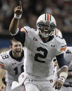 Auburn might have Heisman Trophy winner Cam Newton and a berth in the BCS national championship game, but it ranks only as the 38th most popular team.