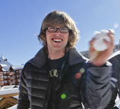 Kevin Pearce hopes to be back on a snowboard later this season. He suffered a traumatic brain injury during a training run on New Year's Eve last year.