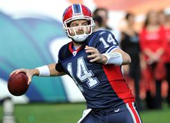 Bills quarterback Ryan Fitzpatrick has led the team to a 4-3 mark after an 0-8 start.