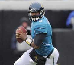 Jaguars quarterback David Garrard threw a career-high 23 touchdown passes this season.