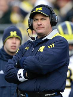 """From Day One, Rich Rodriguez had his critics in Ann Arbor, mostly because he wasn't a """"Michigan Man."""""""