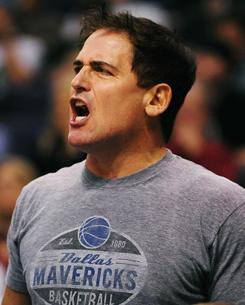 Mavericks owner Mark Cuban is never shy about offering his opinion.