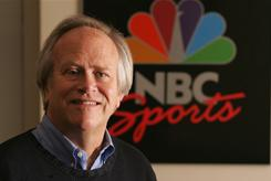 'Sunday Night Football' chief and NBC Sports boss Dick Ebersol is happy about the program's audience.