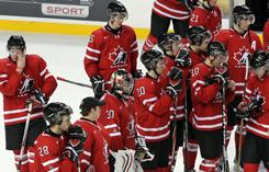 Team Canada is downtrodden after losing a 3-0 lead in the third period and falling to Russia 5-3 in the gold-medal game.