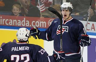 Chris Kreider Scores Twice As USA Beats Swedes To Win World Juniors Bronze