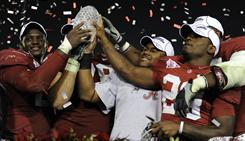 Alabama's 37-21 win against Texas last season was the Southeastern Conference's fourth BCS title in a row.