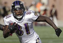Anquan Boldin and the Ravens travel to Kansas City on Sunday.