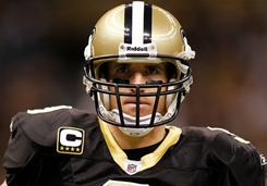 Drew Brees and the Saints head to Seattle to open wild-card weekend.