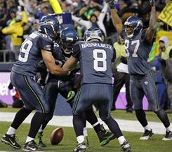 The Seahawks stunned the Saints with a 41-36 win on Sunday.