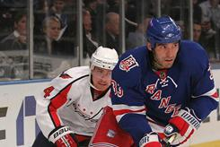 Defenseman Michal Rozsival, right, had 15 points this season with the Rangers.